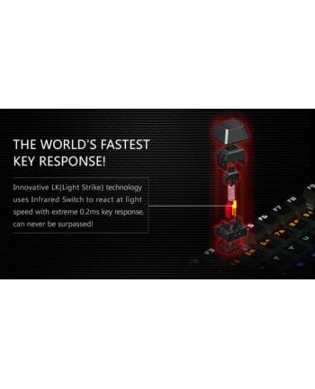 A4-Tech Klawiatura dla graczy Mechaniczna  A4Tech Bloody B700 USB, US