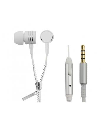 ESPERANZA EH161W Słuchawki Stereo z Mikrofonem Douszne - ZIPPER