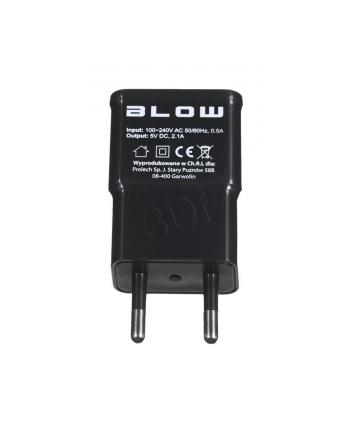 Ładowarka siec.gn.USB 2 1A+kab. micro USB