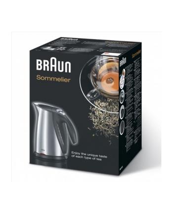 Braun Czajnik WK 600 1,7L silver/bk - Impression Cordless