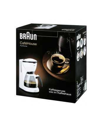 Braun Ekspres do kawy KF 520 Café House white