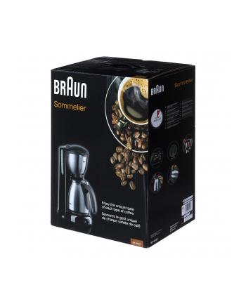 Braun Ekspres do kawy KF 610 Sommelier black/gy