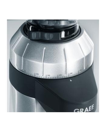 Graef CM 800 - młynek do kawy - srebrno czarny