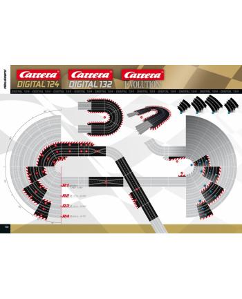 Carrera Evolution 6 krzywych 30 na podwyższeniu do Evo i 132 - 20020575