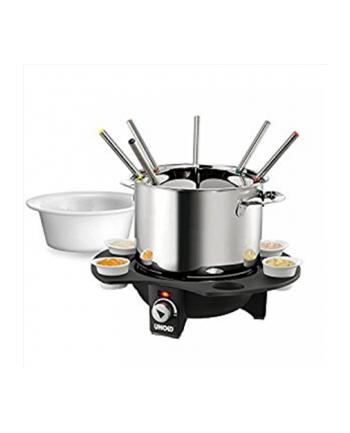 Unold Fondue 48645 Élégance 1000W silver/black