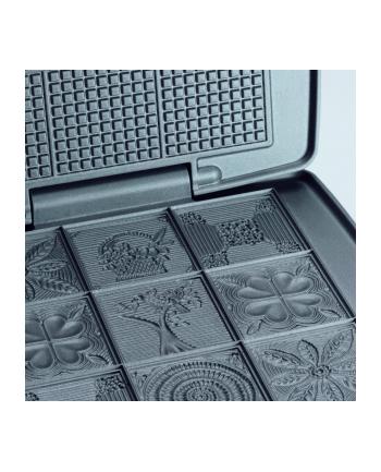 Cloer Gofrownica 1431 930W black/silver