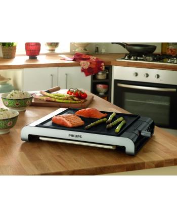 Philips Grill stołowy HD 4417/20 BBQ 2000W black