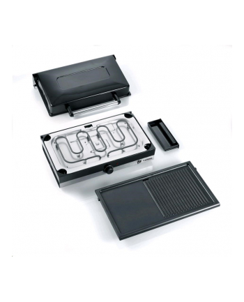 Severin PG 2368 - grill stołowy - czarno srebrny