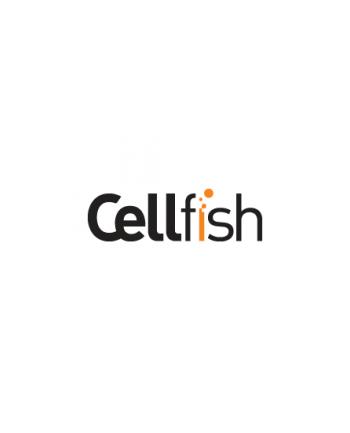 Cellfish 1m USB PLUSBCKABELORANGE