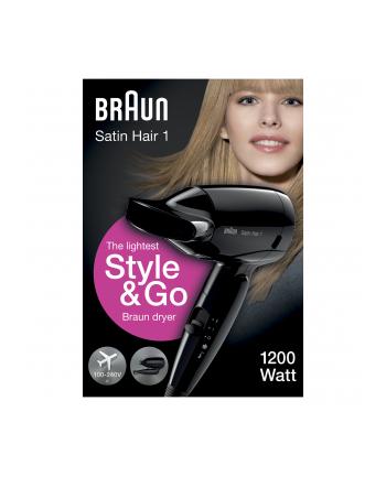Braun Suszarka do włosów HD 130 Style&Go black - Satin Hair 7