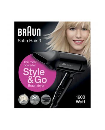 Braun Suszarka do włosów HD 350 Styl&Go black - Satin Hair 7
