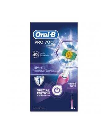 Braun Oral-B PRO 700 white&Clean white
