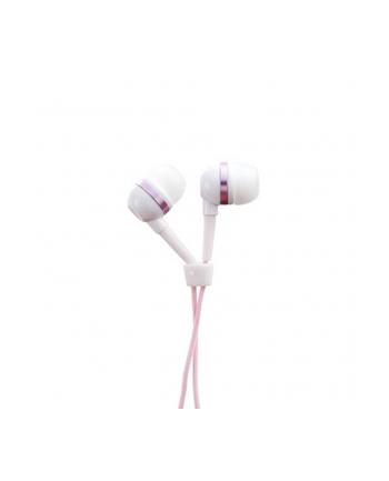 Antec DBS In-Ear headphone - biało różowe