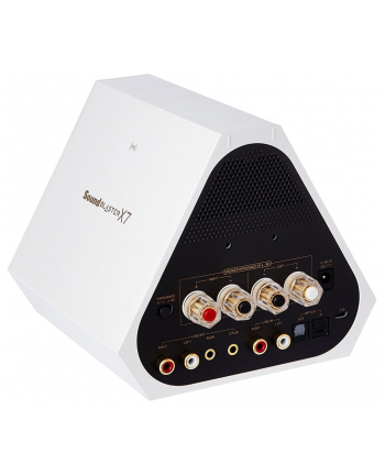 Creative SoundBlaster X7 Limited Edition white USB