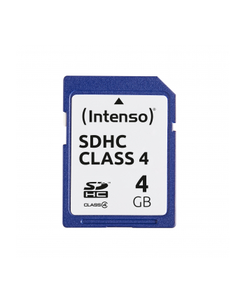 Intenso SD 4GB 5/21 Class 4