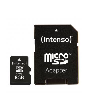 Intenso microSD 8GB 5/21 Class 4 +AD