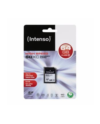 Intenso SD 64GB 12/20 Class 10