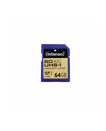 Intenso SD 64GB 10/45 Secure Digital UHS-I