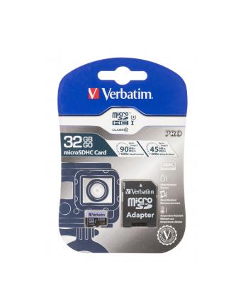 Verbatim Pro 32GB microSDHC UHS Speed Class 3