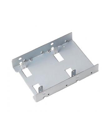 SilverStone SST-SDP08-Lite - przejściówka z 3.5 cala na 2x 2.5 cala SSD/HDD