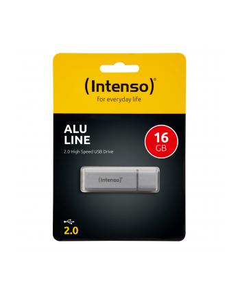 Intenso USB 16GB 6,5/28 Alu Line srebrny U2
