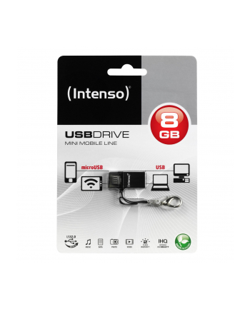 Intenso 8GB Mini MOBILE LINE - pendrive do tabletu