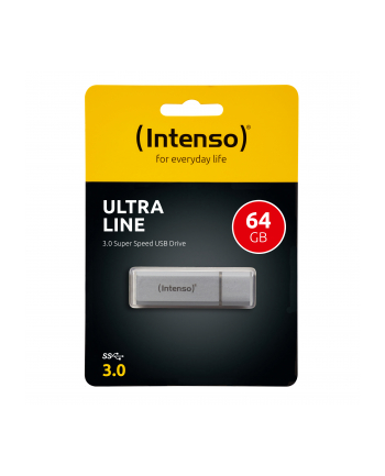 Intenso USB 64GB 20/35 Ultra Line srebrny USB 3.0