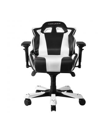 DXRacer King Gaming Chair - Black/White - OH/KS06/NW