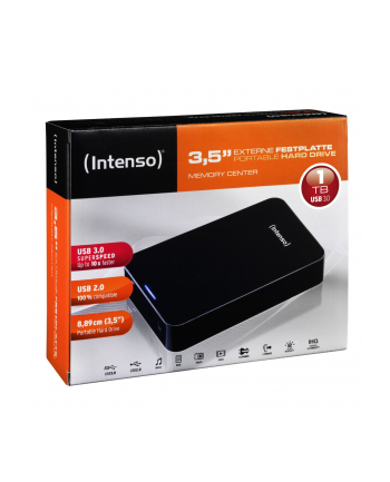 Intenso 1TB Memory Center 3.5 Cala black USB 3.0