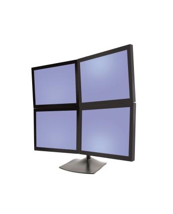 Ergotron Serie DS100 Standfuß 4 Monitore