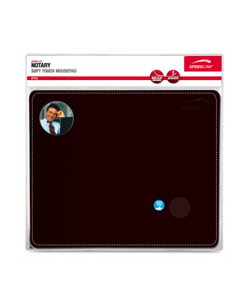 Speedlink NOTARY Soft Touch Mousepad black