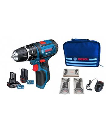 Bosch Wkrętarka akumulatorowa  GSR 10,8-2-LI Set blue