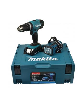 Makita Wkrętarka akumulatorowa DHP453RYLJ 18V blue