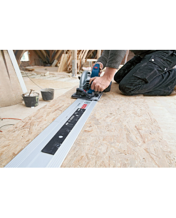 Bosch Ręczna pilarka tarczowa  GKS 65 GCE +FSN1600 blue - FSN 1600