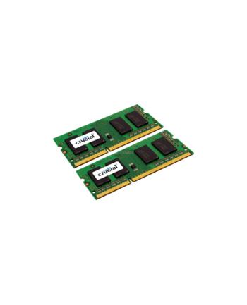 Crucial DDR3 SO-DIMM 4GB 1600-11 Silver LV Dual