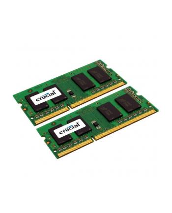 Crucial DDR3 SO-DIMM 8GB 1600-11 Silver LV Dual