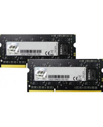 G.Skill DDR3 SO-DIMM 8GB 1333-999 SQ Dual