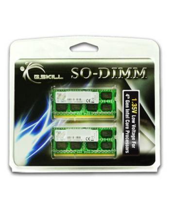G.Skill DDR3 SO-DIMM 8GB 1333-999 SL Dual