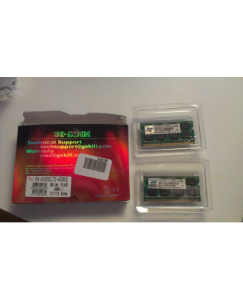 G.Skill DDR3 SO-DIMM 8GB 1066-777 SQ Dual