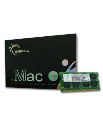 G.Skill DDR3 SO-DIMM 8GB 1600-11 SQ Dual