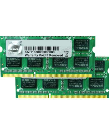 G.Skill DDR3 SO-DIMM 8GB 1066-777 MAC SQ Dual