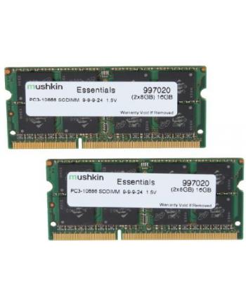 Mushkin DDR3 SO-DIMM 16GB 1333-9 Essent Dual