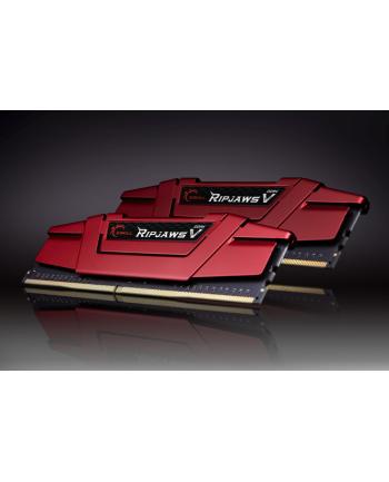 G.Skill DDR4 8GB 2800-15 Kit - Ripjaws V Red