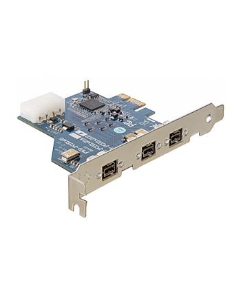 Delock PCI-E Karta 3x FireWire B
