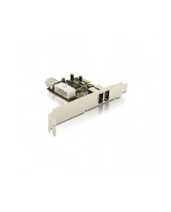 Delock PCI-E Karta FireWire A 2+1 Port