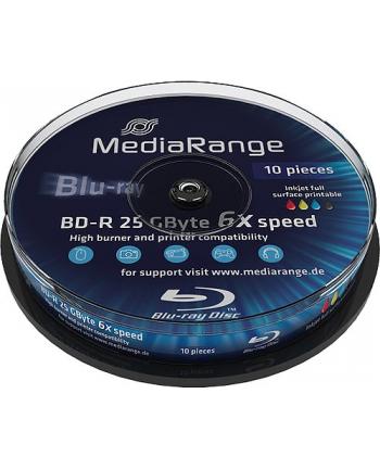 BD-R 6x CB 25GB MediaR Pr. 10 sztuk