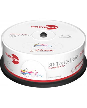 PRIMEON BD-R 25 GB 10x, Blu-ray - 25 sztuk