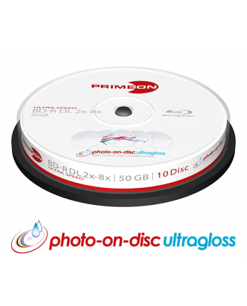 PRIMEON BD-R DL 50 GB 8x, Blu-ray - 10 sztuk
