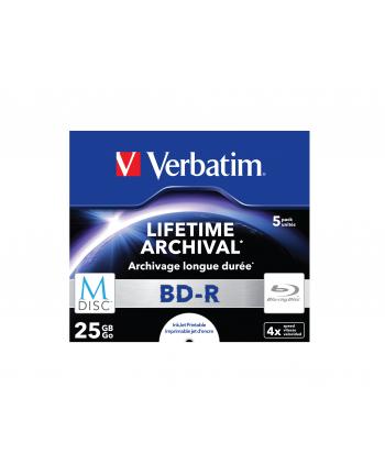 BD-R M-Disc 4x JC 25GB 5 sztuk