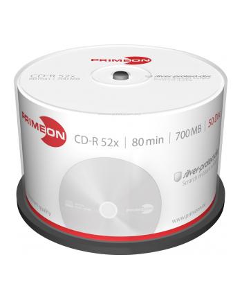 PRIMEON CD-R 700 MB 52x, CD-R - 50 sztuk - 2761102